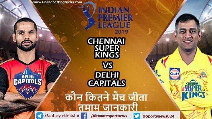 Delhi vs Chennai