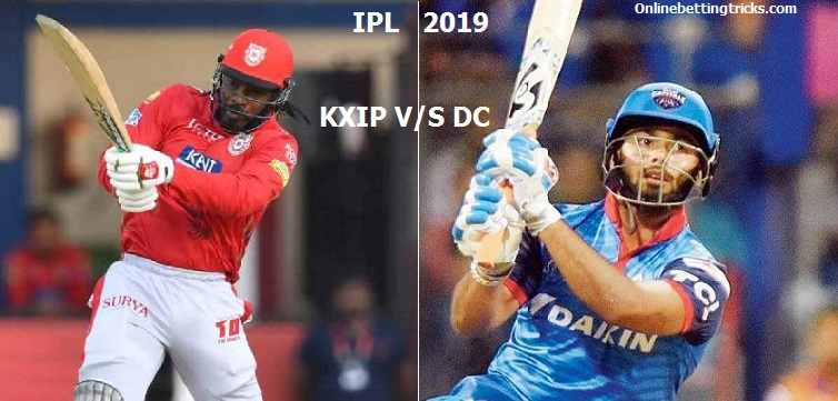 dc vs kxip betting