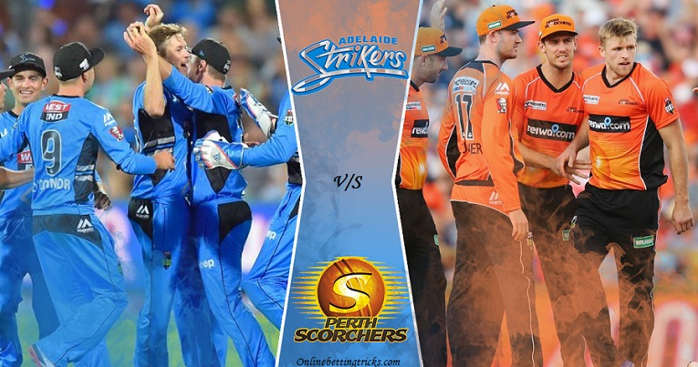 Adelaide strikers vs perth scorchers betting previews us based online betting sites