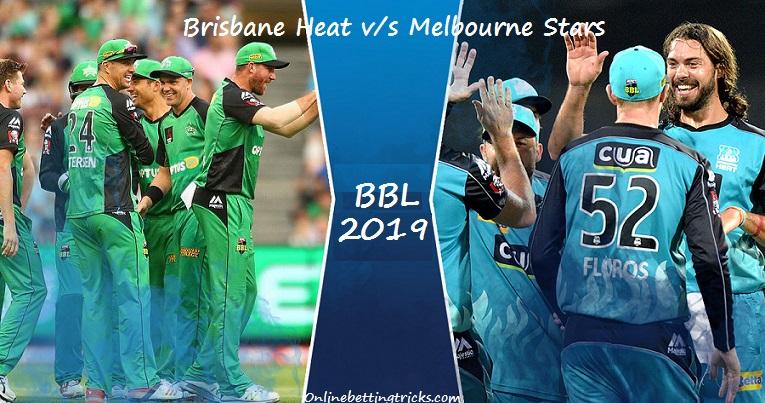 Brisbane Heat vs Melbourne Stars