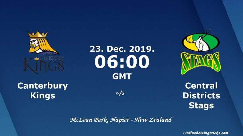 Canterbury Kings vs Central Districts