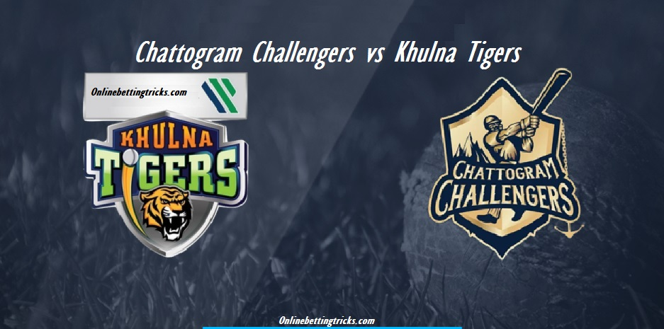 Chattogram Challengers vs Khulna Tigers