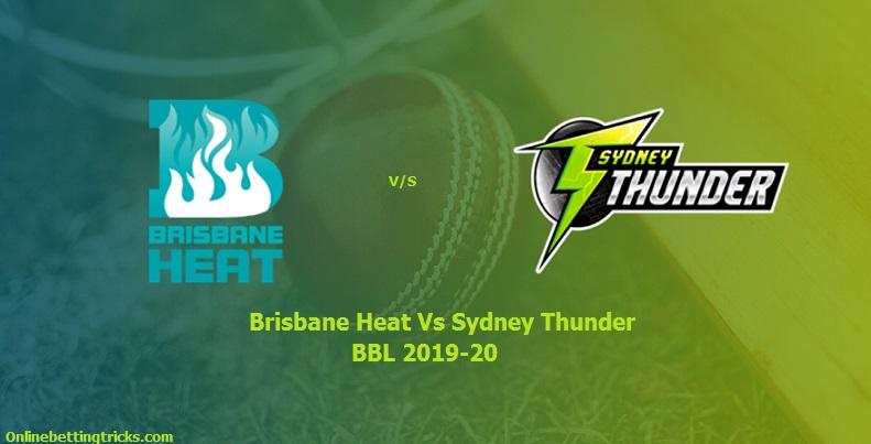 Sydney thunder vs Brisbane Heat