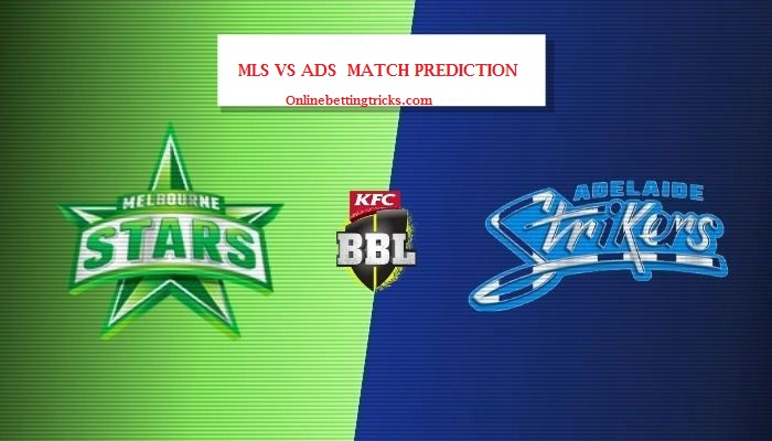 Melbourne stars vs adelaide strikers betting preview legally bet on superbowl