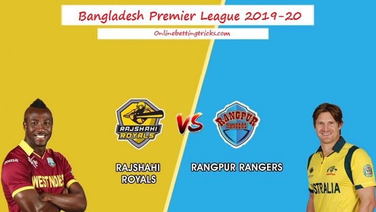 Rangpur Rangers vs Rajshahi Royals