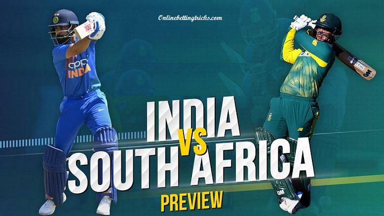India Vs South Africa 1st ODI
