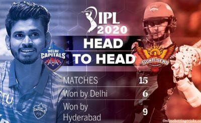 DC VS SRH IPL 2020
