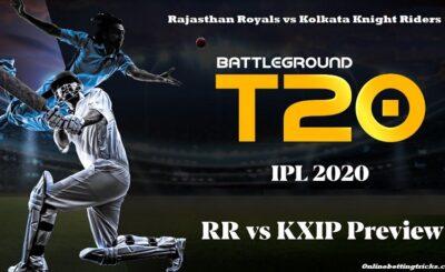 RR vs KKR IPL 2020