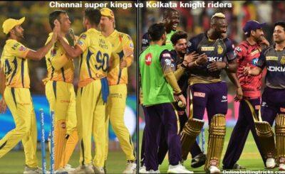 CSK VS KKR IPL 2020