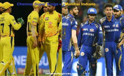 CSK VS MI IPL 2020
