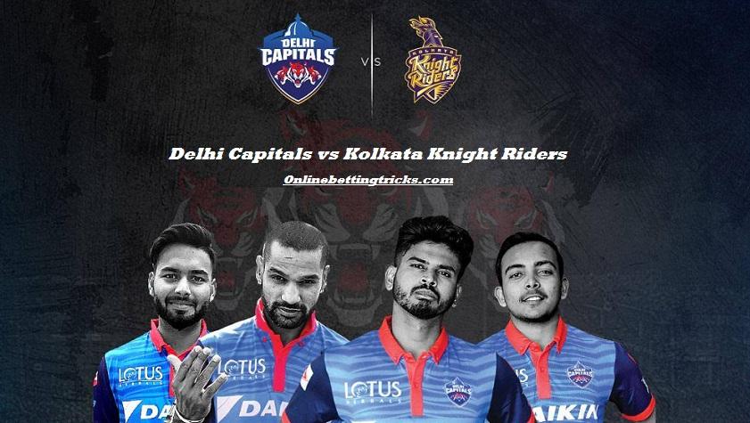 DC VS KKR IPL 2020
