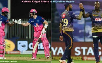 KKR VS RR IPL 2020