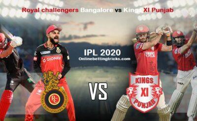 RCB VS KXIP IPL 2020