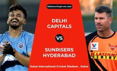 SRH VS DC IPL 2020